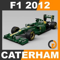 F1 2012 Caterham CT01 - Caterham F1 Team