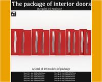 3dsmax package interior doors
