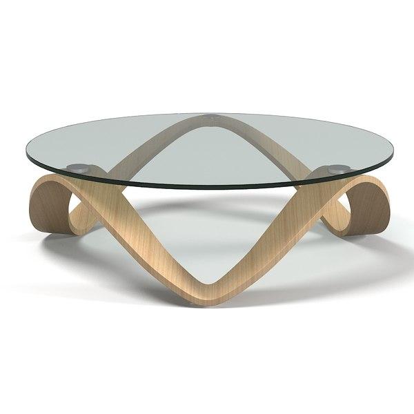 Emmemobili summo tt 3d model for Designer cocktail tables glass