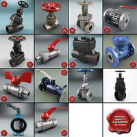 Gate Valves Collection V5