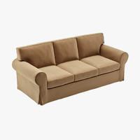 ektorp sofa seat 3d model
