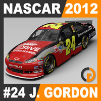 Nascar 2012 Car - Jeff Gordon Chevrolet Impala #24