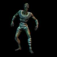 Mummy Animated Character
