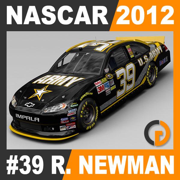 Nascar 2012 Car - Ryan Newman Chevrolet Impala #39