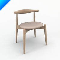ch20 elbow chair design 3d obj