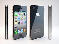 iphone 4s 4 3d model