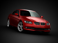 bmw coupe 3d model