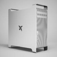 3d computer cas model