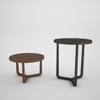 flexform jiff coffe table 3d model