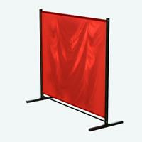 welding curtains 3d obj