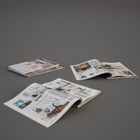 3d model photorealistic magazines