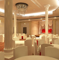 3d wedding hall