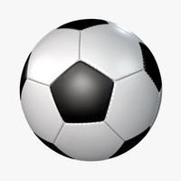 soccer ball stitch 3d model