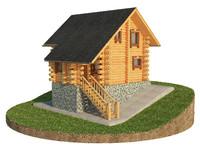 max log cabin