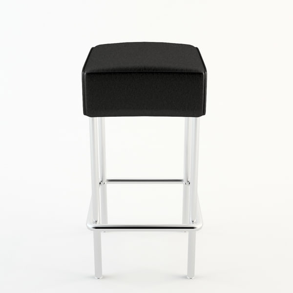 bar stool ikea 3d max