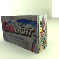 Beer Box Coors Light