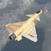 3ds max realistic chengdu j-10 china