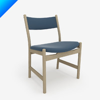 3ds design hans wegner chair classic