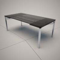 cattelan italia mistral dining table 3d 3ds