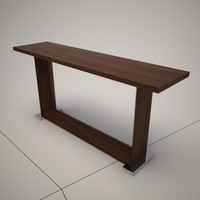 dwg cattelan italia monaco console table
