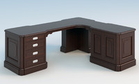 3ds max executive desk