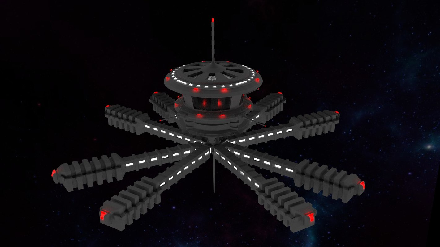 space station 3d models - photo #45