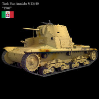 3ds max tank m13 40