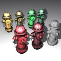 3ds max hydrants