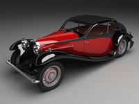 """Bugatti Type 50T """"profile"""