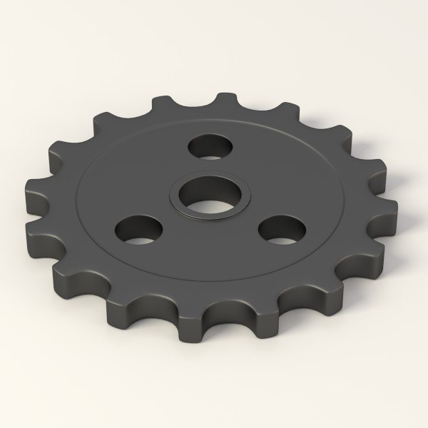 industrial wheel max - industrial wheels+parts max... by 3DMB
