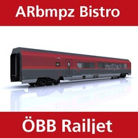 3ds max bistro railjet