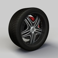 Wheel Dropstars DS09 rim and tire