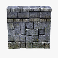 3d max tileable stone wall