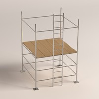 3ds max scaffolding