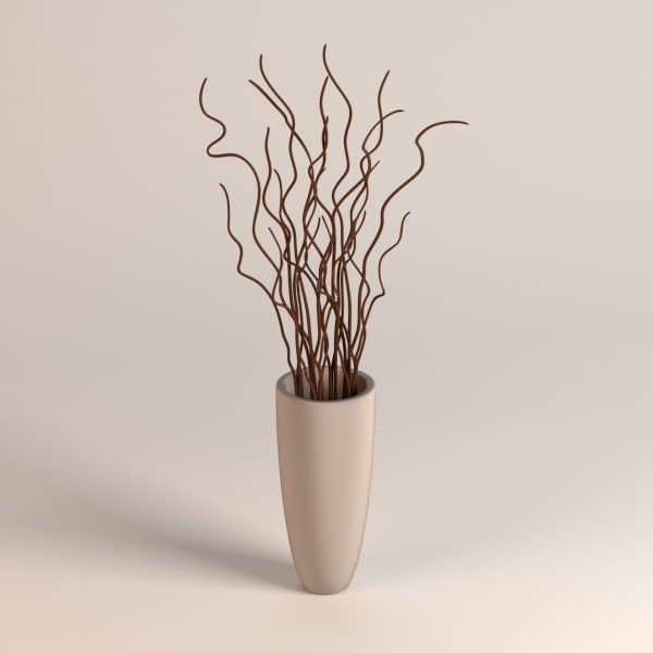 Vase Decoration 3ds