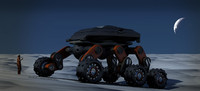 3d tantrum offroad offworld vehicule