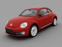 3dsmax volkswagen beetle 2012