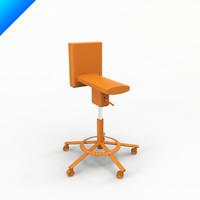 3d chair design konstantin grcic model
