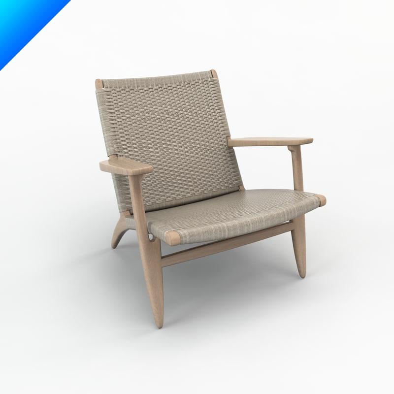 Ch25 Chair Design Hans Wegner Max