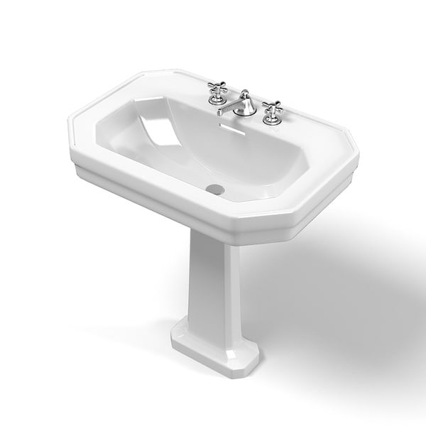 Duravit Pedestal Sink : ... duravit tags duravit 1930 modern classic traditional pedestal sink