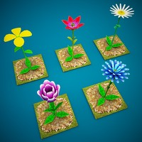 maya flowers games