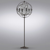 Restoration Hardware - Foucault's Orb Crystal Floor Lamp