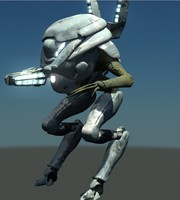 falling skies mech 3d model
