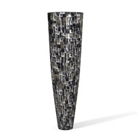 Dk Home Modern contemporary shell vase art tall big