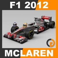 F1 2012 McLaren MP4-27 - Vodafone McLaren Mercedes