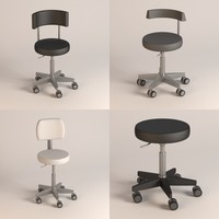 3d hospital chairs