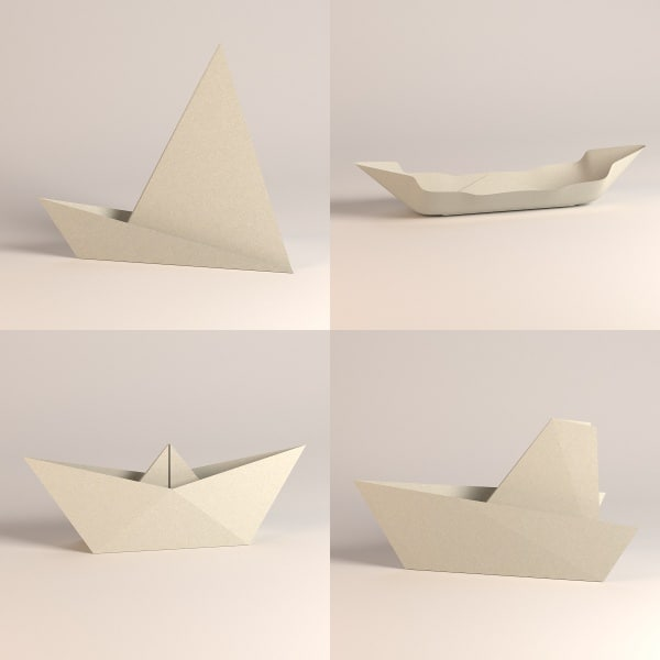 how to make a 3d boat