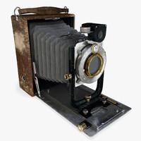 realistic vintage camera 3d model