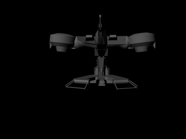 free halo 3 hornet 3d model - Halo Hornet... by teFlyingNinja