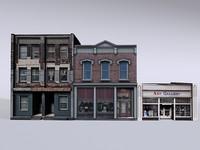 3d building d model